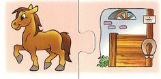 που ζουν τα ζώα - where do they live? Educational Activities For Kids, Animal Activities, Farm Animals, Animals And Pets, Things That Go Together, File Folder Activities, Japanese Tea Ceremony, Matching Games, English Lessons