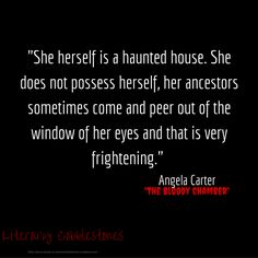 """November 14: Angela Carter's """"The Bloody Chamber"""" for Gothic Literature Month 
