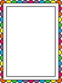 And Comb Frames Borders Printable Clipart