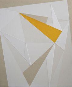 jeff depner   UNTITLED acrylic, gesso on canvas 24x20 2014