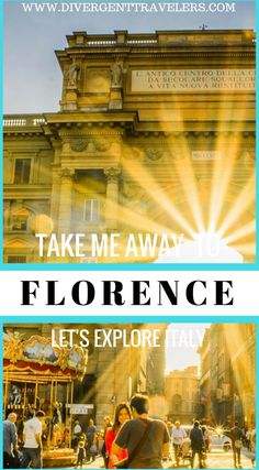 """Take me away to Florence, Italy. Let us take you on a tour of Florence and discover some of the most intense, unique and """"typical"""" experiences you can live in town. Let's explore the cultural and artistic heart of Florence. It's part of enjoying Italy. - if you fall in love with a museum, slow down and take your time. You will enjoy and remember it as an important part of your travels. Click to read more. #Travel #Guide #Florence #Italy"""