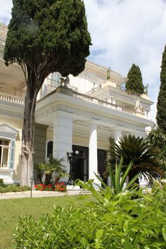 Sissi's Palace or also called Achilleon, Corfu, Greece