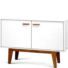 dealsdirect.com.au - 2 Doors Sideboard Buffet Cabinet/Cupboard Matt