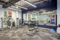 Stick to your with our newly renovated center featuring state-of-the-art cardio and weight lifting equipment.