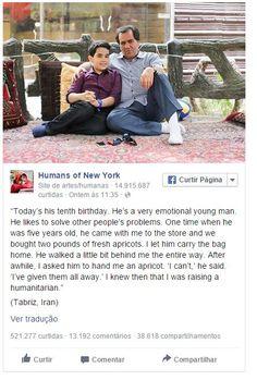 Este post no Face comoveu tanto Obama que ele até comentou