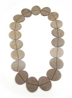 Rebecca Hannon - Laminate necklace 2010