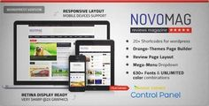 Download and review of Novomag - News Magazine Theme, one of the best Themeforest Magazine & Blogs themes