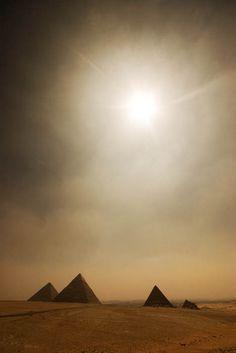 Piramids of egypt by Michel van der Klooster via 500px