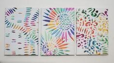 Colour Explosion Set Surface Design, Colour, Blog, Color, Blogging, Colors