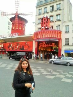 Moulin Rouge, Paris -France