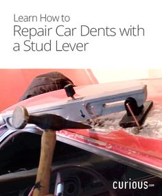 Time to fix that old dent in your car! This lesson walks you through the process of smoothing a dent with a stud lever.