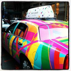 Leave it to Kate Spade to get your attention on the New York streets...Taxi Please! - Christina Liscinsky