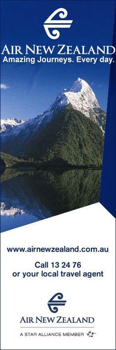 Air New Zealand Advert