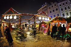Christmas time, Old Town, Warsaw, Poland