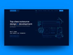 WordPress Website Development Outsourcing Studio by Dmytro Svientukhovskyi on Dribbble Wordpress Website Development, Web Design Examples, Aesthetic Template, Jobs Hiring, Saint Charles, Show And Tell, Design Development, Terms Of Service, Studio
