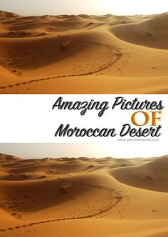 pictures of Moroccan Desert