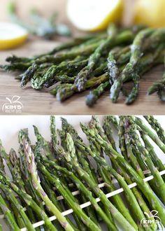 Grilled Asparagus with Lemon Vinaigrette