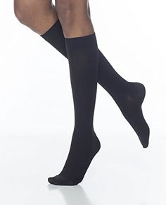 b1665ca074 Sigvaris Access 972CLSW99 20-30 mmHg Womens Closed Toe Knee High, Black,  Large