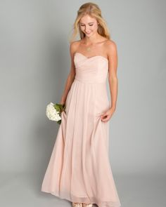 peach bridesmaid dresses | Bridesmaid Dresses | Martha Stewart Weddings