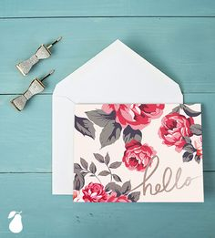 Customize these thank you cards and personalized note cards to say what you want to say in a beautiful way.