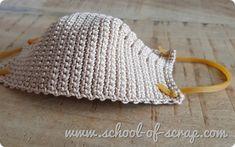 Puff Stitch Crochet, Crochet Mask, Crochet Faces, Crochet Girls, Crochet Home, Diy Crochet, Crochet Stitches Patterns, Crochet Designs, Crochet Dishcloths