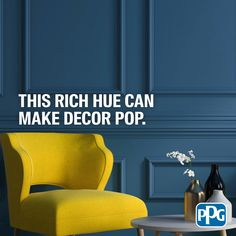 Give your decor room to shine with the calming color of PPG 2020 Color of the Year, Chinese Porcelain Chosen by PPG Color Experts to bring a soothing presence to your space. Entryway Paint Colors, Paint Colors For Living Room, Room Paint, Room Colors, Deck Railings, Railing Ideas, Paint Brands, Calming Colors, Country Farmhouse Decor