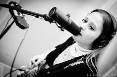 Eliana in de Studio