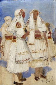 M. Benka - Zliechov Traditional Outfits, Embroidery, Painting, Pintura, Art, Needlework, Needlepoint, Painting Art, Paintings