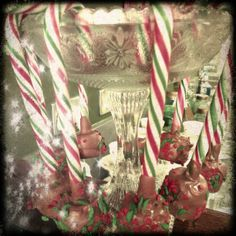 Christmas Candy Canes with Marshmallows!