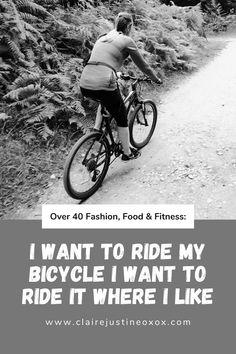 I Want To Ride My Bicycle I Want To Ride It Where I Like Losing Weight Tips, Weight Gain, Sherwood Pines, New Readers, Keep Running, Bicycle Race, Personal Fitness, Happy Monday, Monday Motivation