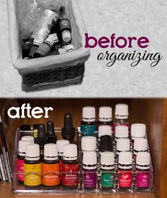 Organizing Your Essential Oils She Got A Nail Polish Makeup Organizer And Also Lazy Susan Says To Bring Eo Bottles With You Be Sure They Fit