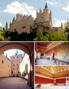 Castles in Spain: Three Gems That Take Us Back in Time to the Middle Ages. The Alcázar de Segovia.