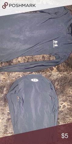 Under armour small girls long sleeve Black long sleeve, stretchy, good condition, no stains or tears Under Armour Shirts & Tops Tees - Long Sleeve