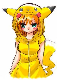 apicture of misty from pokemon in a pikachu-outfit^^ i don´t own this charakter misty in pikachu-outfit Pikachu Costume, Pokemon Cosplay, Anime Girls, Manga Girl, Sexy Pokemon, Pokemon Fan Art, Cute Pokemon Wallpaper, Cute Girl Wallpaper, Eevee Wallpaper