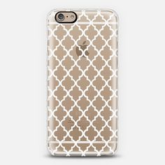 Marocco White Crystal Clear iPhone 6 case by Monika Strigel Iphone 5se, Iphone 8 Plus, Tech Accessories, Casetify, Phone Cases, Crystals, Business Products, 6 Case, Advertising