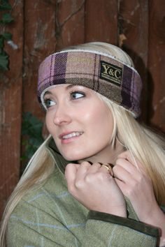 Tweed headband from Young and Country #earwarmers #Alischwind