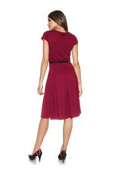 Ashley Brooke γυναικείο φόρεμα κόκκινο