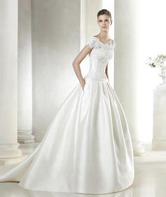St Patrick #weddingdress #wedding