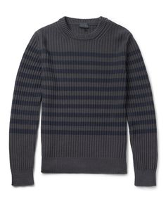 lanvin | striped ribbed sweater