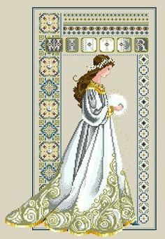 """Celtic Winter"" copyright Lavender & Lace Cat Graphics: Hadas"