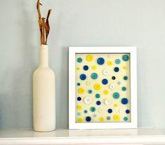 Button Frame Artwork - http://www.estroo.it/2013/12/18/button-frame-artwork/