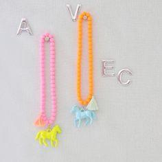 Avec A Annie Horse Necklace - Jujubunnyshop