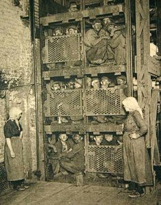 Russische mijnwerkers