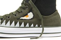CONVERSE CHUCK TAYLOR ALL STAR MA-1 ZIP (SHARK PACK) - Sneaker Freaker