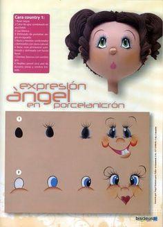Учимся рисовать личики куклам - Ярмарка Мастеров - ручная работа, handmade