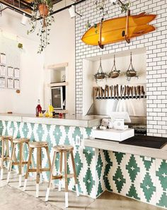 Best Home Decoration Stores Interior Decorating, Restaurant Interior Design, Interior Design Kitchen, Decor Interior Design, Home Decor, Bohemian Interior Design, Interior Design Styles, Cafe Design, Interior Design