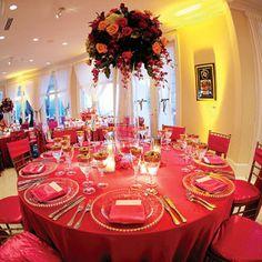 Ideas para decorar mesa de bodas en rosa