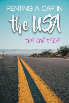How to rent a car in the US? Check out our tips what to know and what to check before your American road trip! Travel Advice, Travel Guides, Travel Tips, Travel Hacks, Travel Goals, Anna Maria Island, Daytona Beach, Florida Keys, Canada Travel