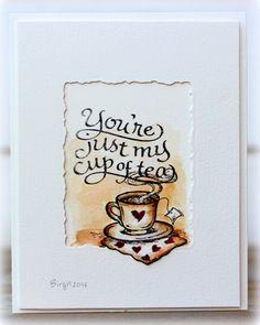 Rapport från ett skrivbord: You´re just my cup of tea!