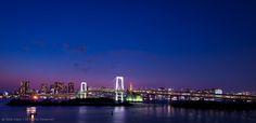 https://flic.kr/p/bP99iT | Rainbow Bridge, Tokyo seen from Odaiba |